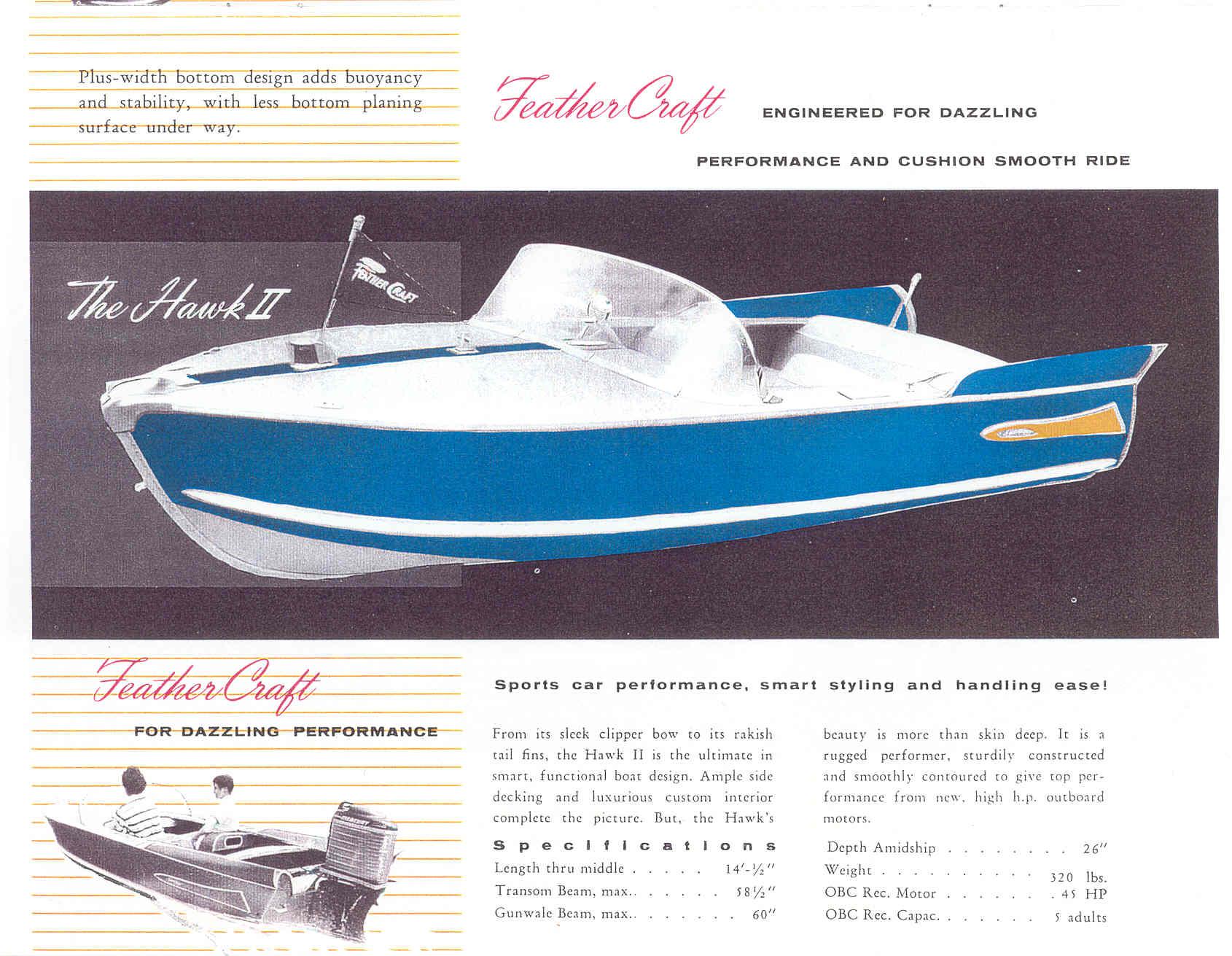 Feather Craft - 1959 Catalog